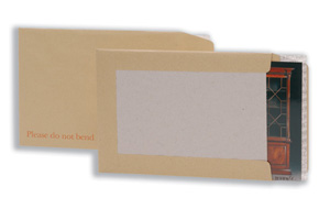 5 Star Envelopes Board-backed Peel and Seal 115gsm Manilla C4 [Pack 125] Ident: 125C